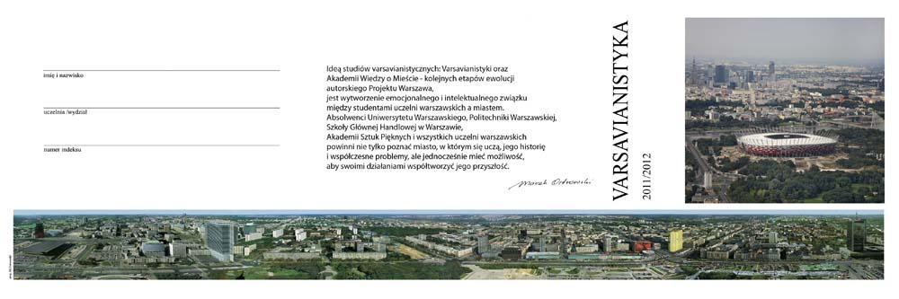 Karnet wykładów varsavianistycznych 2011/2012
